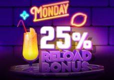 7Bit Casino Monday Reload Bonus
