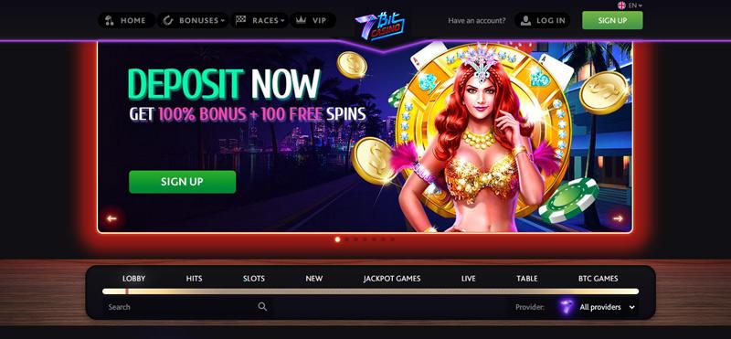 7bitcasino-website