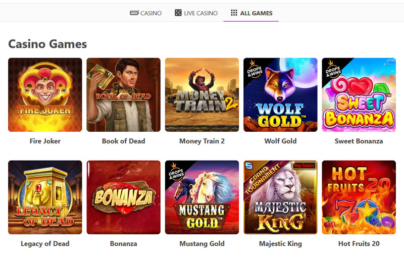 dreamz-casino-all-games-section