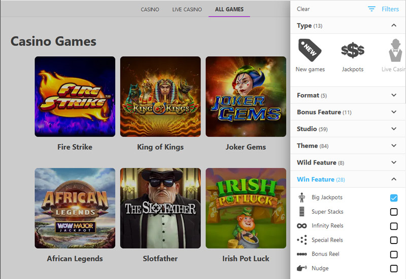 dreamz-casino-big-jackpot-games