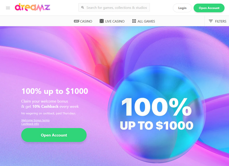 dreamz-casino-site