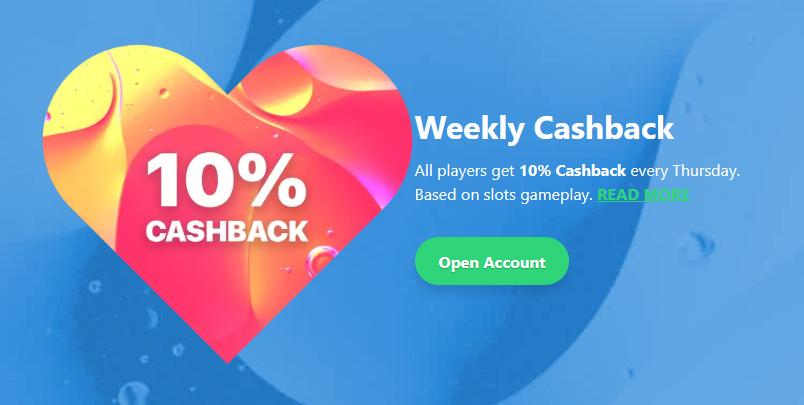 dreamz-casino-weekly-cashback