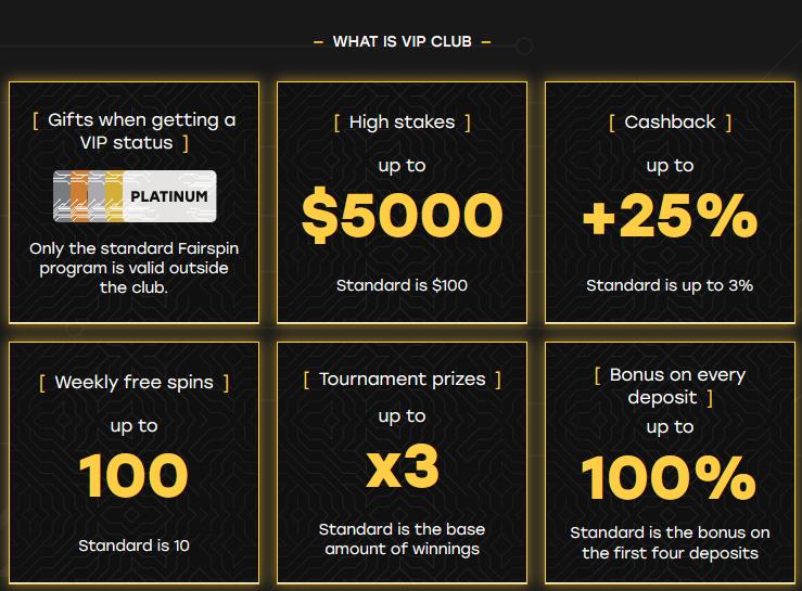 fairspin-casino-vip-club