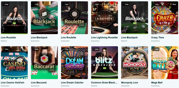 Lucky Days Canada Live Casino