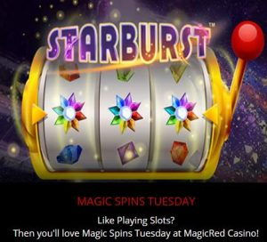 magicRed Magic Spins tuesday