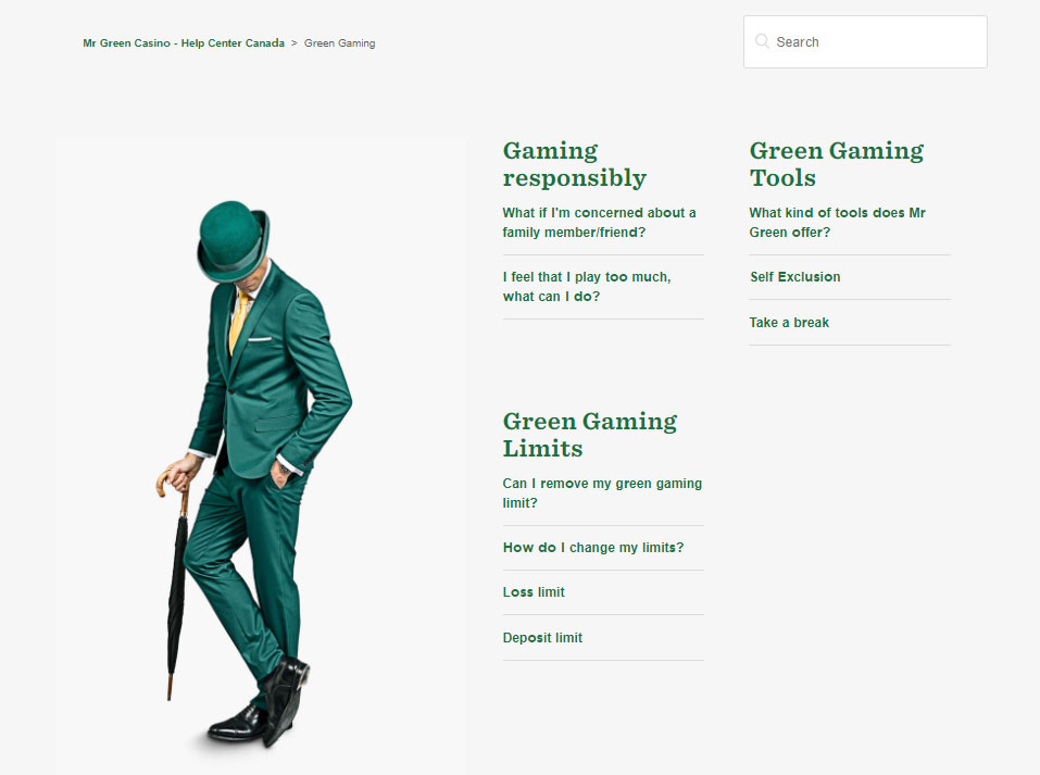 Mr Green Casino 2021 A Safe Secure Gentleman