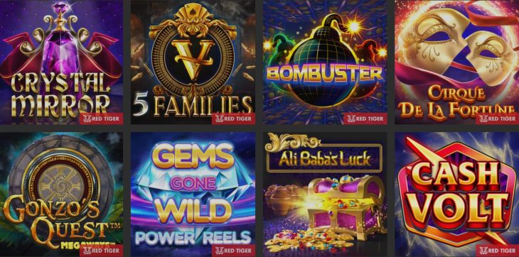 red tiger canada slot games