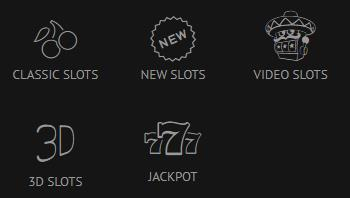 SlotsMillion slot categories